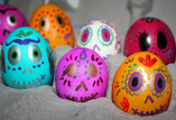 Day of the Dead Confetti Eggs Mexican Cascarones