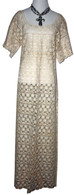 Ivory Mexican Lace Dress L