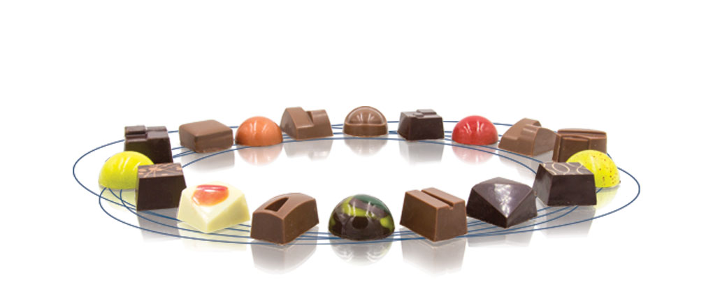 Around the world in 18 chocolates