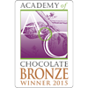 BRONZE (Academy of Chocolate Awards 2015) - Peanut & Raspberry