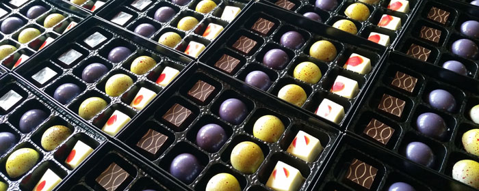 Corporate Gifts - Special Chocolate for Company's 20th anniversary
