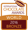 WORLD BRONZE (International Chocolate Awards 2016) - Yuzu & Pink Peppercorn