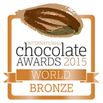 International Chocolate Awards 2015 World Bronze Award