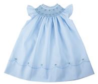 Pearl Flower Fly Sleeve Bishop Dress