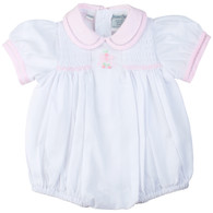 Bow Smocked Bubble