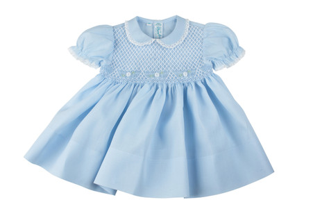 Smocked Dress and Panty with Daisies