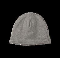 Heather Grey Jacquard Knit Hooded Cardigan