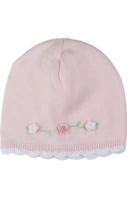 Rosebud Knit Hat