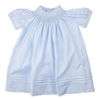 Blue Girls Bishop Dress