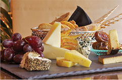 Cheese board and spread