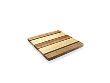 Square edge grain cheese board