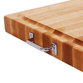 Replacement cutting board handle