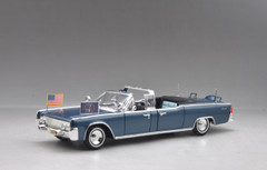 1/24 Yatming 1961 Lincoln X-100 Kennedy Car