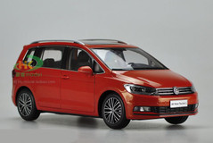1/18 Dealer Edition 2016 Volkswagen VW Touran (Orange)