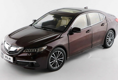 1/18 Dealer Edition Acura TLX (Wine Red)