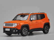 1/18 Dealer Edition Jeep Renegade (Orange)