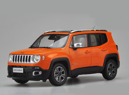 1 18 dealer edition jeep renegade orange. Black Bedroom Furniture Sets. Home Design Ideas