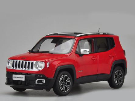 1 18 dealer edition jeep renegade red. Black Bedroom Furniture Sets. Home Design Ideas
