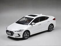 1/18 All New Dealer Edition 2017 Hyundai Elantra (White)