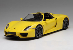 1/18 Minichamps Porsche 918 Spyder Limited (Yellow)