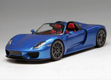 1/18 Minichamps Porsche 918 Spyder Limited (Blue)