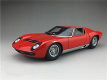 1/18 AUTOart Lamborghini Miura SV (Red w/ Silver Rims)