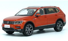 1/18 Dealer Edition 2017 Volkswagen VW Tiguan (Orange)
