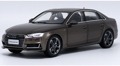 1/18 Dealer Edition 2017 Audi A4L (Brown)