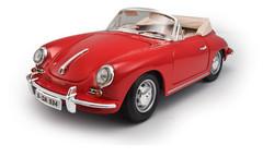 1/18 BBurago Porsche 356B Convertible (Red)