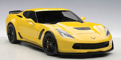 1/18 AUTOart Chevrolet Corvette C7 Z06 (CORVETTE RACING YELLOW) 71263