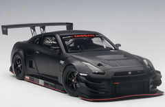 1/18 AUTOart Nissan GTR Nismo GT3 (Matte Black) 81580