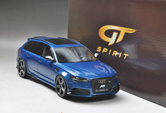 1/18 GTSpirit Audi RS6 ABT Avant C7 (Blue) Resin Model Limited 504 Units