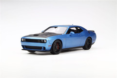 1/18 GTSpirit Dodge Challenger Hellcat (Blue) Limited!