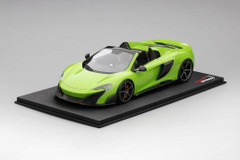 1/18 TSM TopSpeed Mclaren 675LT Spider (Mantis Green) Resin Model Limited 999