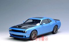 1/18 GTSpirit GT Spirit Dodge Challenger Hellcat (Blue)