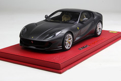 1/18 BBR Ferrari 812 Superfast (Matte Grey) Resin Model