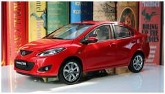 1/18 Dealer Edition Mazda 2 Sedan (Red)
