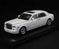 1/43 Kyosho Rolls-Royce Phantom Extended Wheelbase (White)