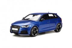 1/18 GT Spirit Audi RS3 Hatchback (Blue)