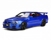 1/18 OTTO Nissan GTR GT-R R34 Nismo Z-tune Resin Model