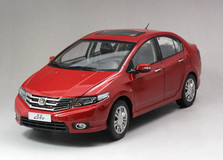 1/18 Dealer Edition Honda City (Red)
