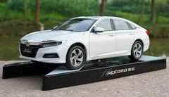 1/18 Dealer Edition 2018 Honda Accord (White)