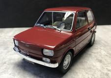 1/18 HQ Fiat 126 Resin Model