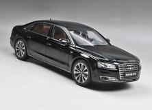 1/18 Kyosho Audi A8 L W12 (Black) Diecast Model