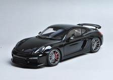 1/18 Schuco Porsche Cayman GT4 (Black)