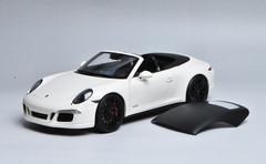1/18 Schuco 911 Carrera GTS Convertible (White)