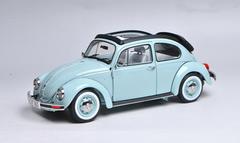 1/18 Schuco Volkswagen VW Beetle 1600 Convertible