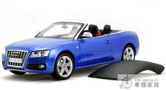 1/18 Audi S5 Convertible (Blue)