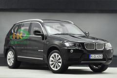 1/18 BMW X3 (Black)