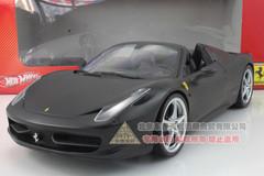 1/18 Ferrari 458 Italia Spider (Black)